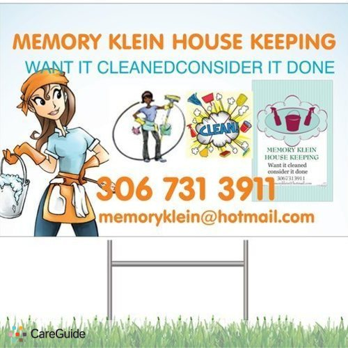 Housekeeper Provider Memory Klein's Profile Picture
