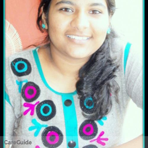 Canadian Nanny Provider Srividhya P's Profile Picture