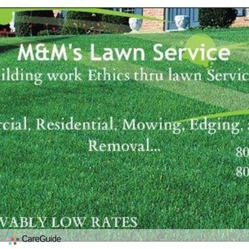 Landscaper Provider M&M's Lawn Services's Profile Picture