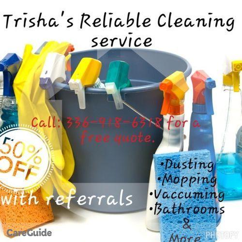 Housekeeper Provider Trisha Patterson's Profile Picture