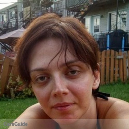 Canadian Nanny Provider Yuliya Parts's Profile Picture