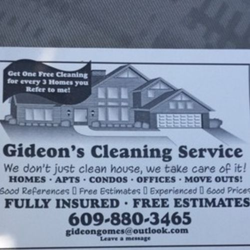 Housekeeper Provider Gideon Gomes's Profile Picture