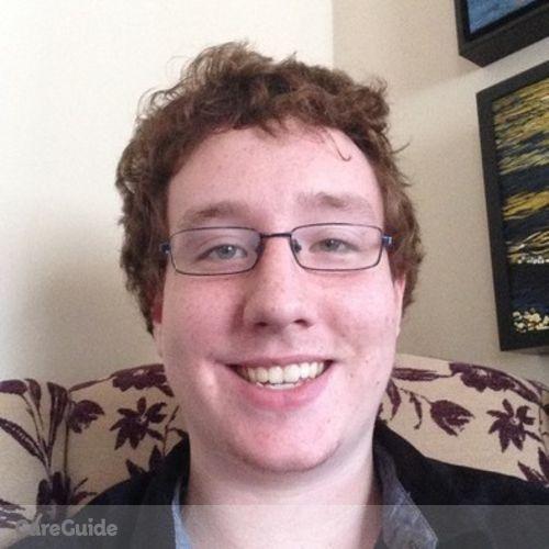 Canadian Nanny Provider Joshua Martin's Profile Picture