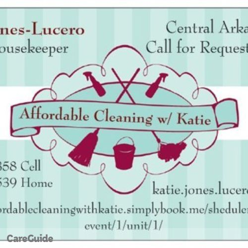 Housekeeper Provider Katie Jones-Lucero's Profile Picture