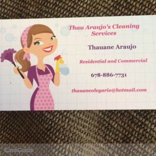 Housekeeper Provider Thauane A's Profile Picture