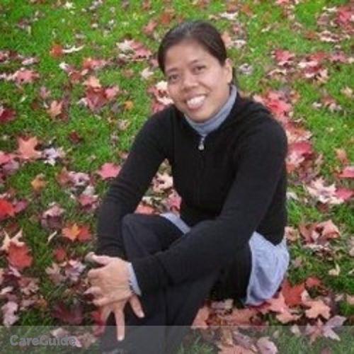 Canadian Nanny Provider Elenita A's Profile Picture