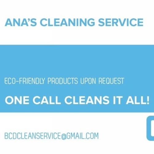Housekeeper Provider Ana's Cleaning Service's Profile Picture