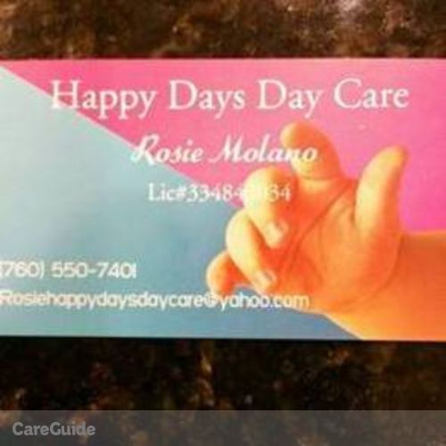 Child Care Provider Rosie Molano's Profile Picture