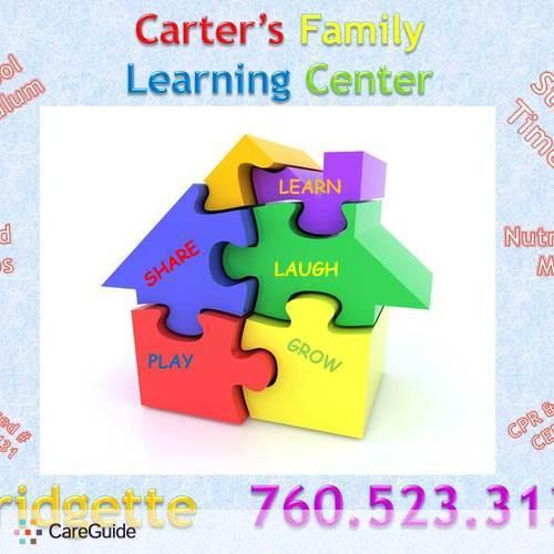 Child Care Provider BRIDGETTTE CARTER's Profile Picture