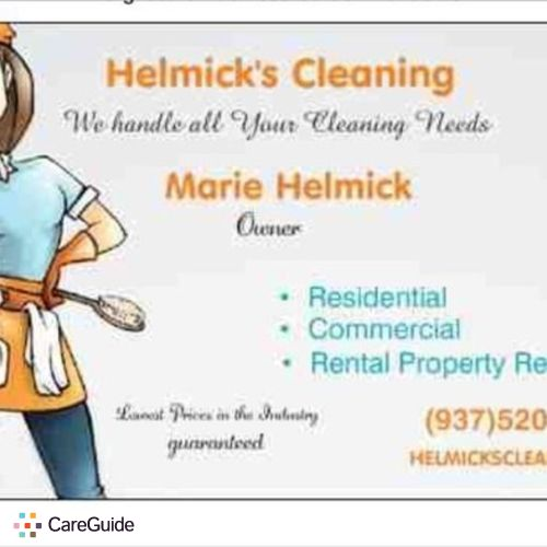 Housekeeper Provider Marie Helmick's Profile Picture