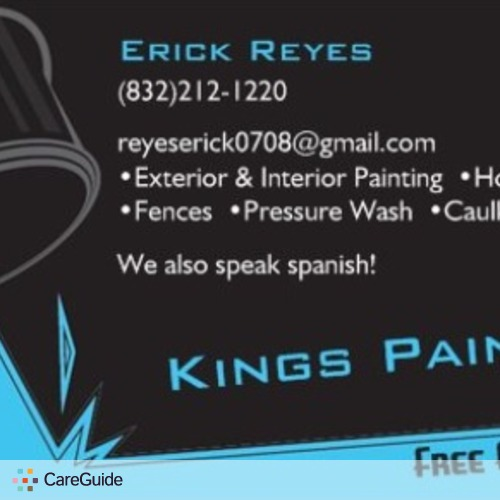 Painter Provider Erick R's Profile Picture