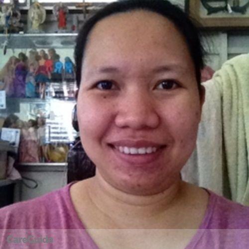 Canadian Nanny Provider Maria Josefa Amita's Profile Picture