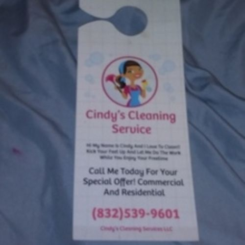 Housekeeper Provider Cynthia T's Profile Picture