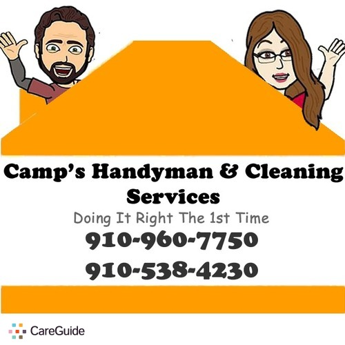 Handyman Provider Camp's Handyman & Cleaning Services's Profile Picture