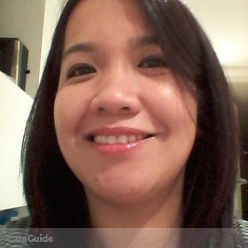 Canadian Nanny Provider Jovylyn Lacson's Profile Picture