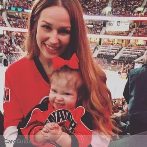 Canadian Nanny Provider Jessica H's Profile Picture