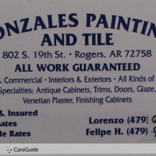 Painter Provider Lorenzo G's Profile Picture