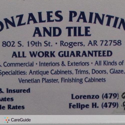 Painter Provider Lorenzo Gonzalez's Profile Picture