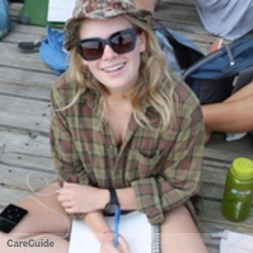 Canadian Nanny Provider Savannah F's Profile Picture