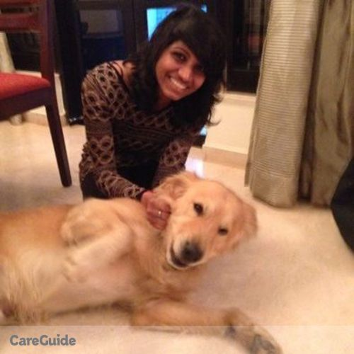 Pet Care Provider Megha Nair's Profile Picture
