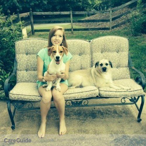 Pet Care Provider Carlie B's Profile Picture