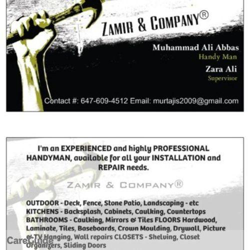 Painter Job Ali Abbas's Profile Picture