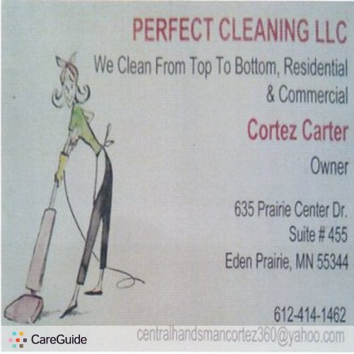 Housekeeper Provider Cortez Carter's Profile Picture