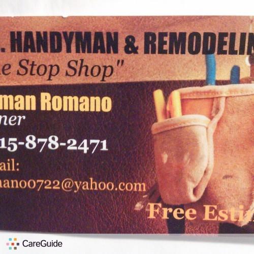 Handyman Provider Herman Romano's Profile Picture