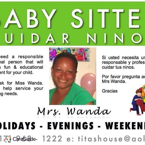 Child Care Provider Wanda M's Profile Picture