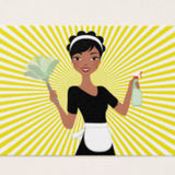 Housekeeper Available and at your Service Immediately! Let us give you a hand