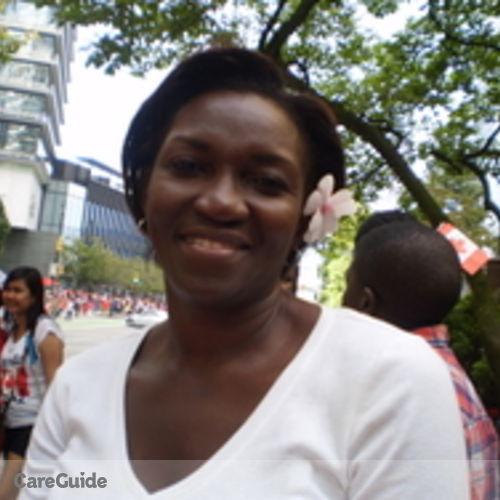 Canadian Nanny Provider Carol Hamilton's Profile Picture