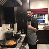 Passionate, creative, committed, chef at your service