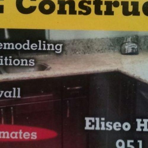 Handyman Provider Eliseo Hernandez's Profile Picture