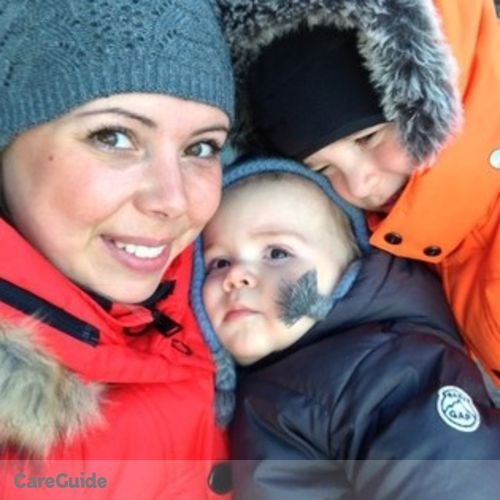 Canadian Nanny Job Stacey Michaud's Profile Picture
