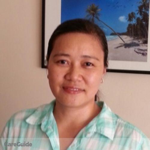 Canadian Nanny Provider Glenda Catubig's Profile Picture