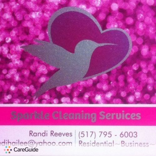 Housekeeper Provider Sparkle Cleaning Services's Profile Picture