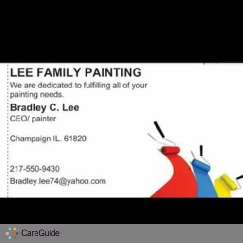 Painter Job Brad Lee's Profile Picture