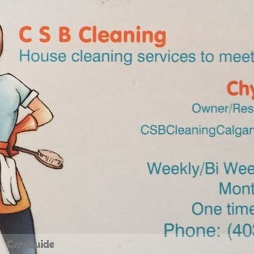 Housekeeper Provider Chyloe B's Profile Picture