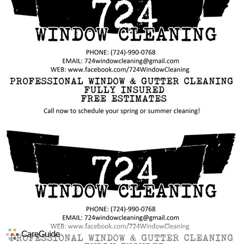 Housekeeper Provider 724 Window Cleaning's Profile Picture