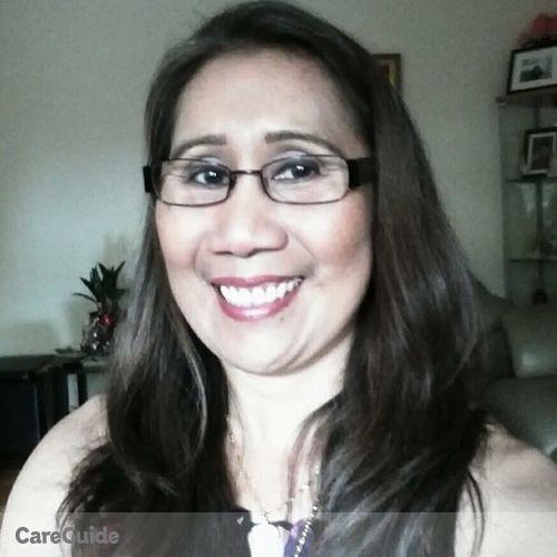 Canadian Nanny Provider Zenaida Frencillo's Profile Picture