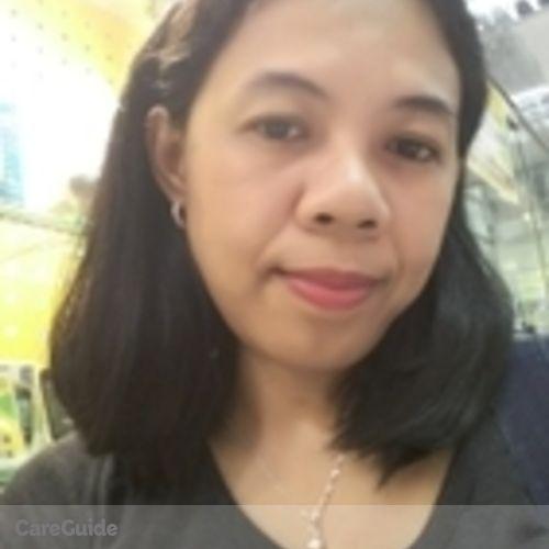 Canadian Nanny Provider Teresa Casido's Profile Picture