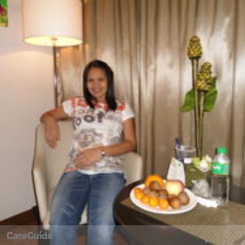 Canadian Nanny Provider Maria Esperanza San Jose's Profile Picture