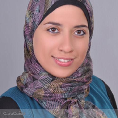 Canadian Nanny Provider Mona Hassan's Profile Picture