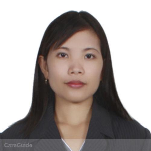Canadian Nanny Provider Melo Jean Cisneros's Profile Picture