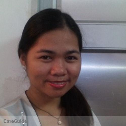 Canadian Nanny Provider Ellen Virtudazo's Profile Picture
