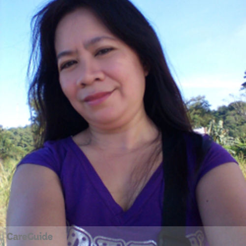 Canadian Nanny Provider Ninfa E's Profile Picture