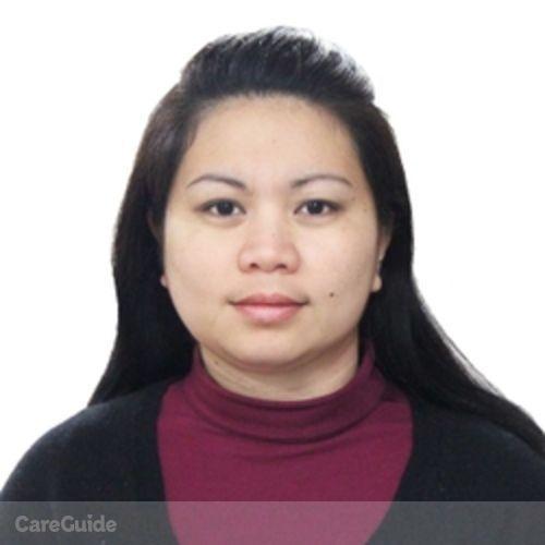 Canadian Nanny Provider Shiela Grace R's Profile Picture