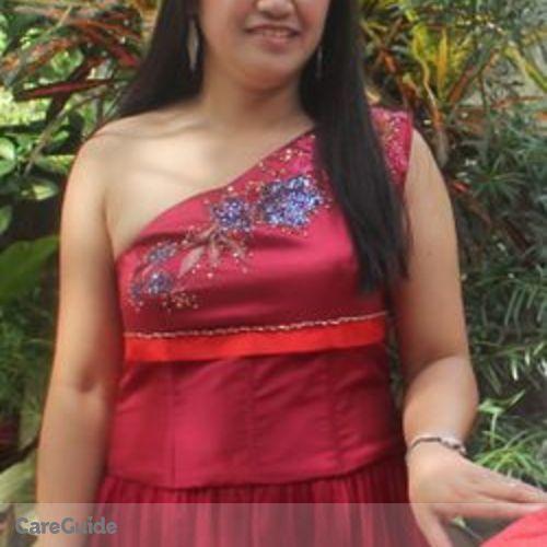 Canadian Nanny Provider Gerilyn Alvarez's Profile Picture