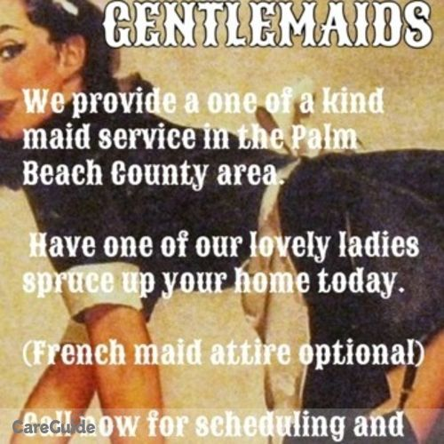Housekeeper Provider Gentlemaids Cleaning service's Profile Picture