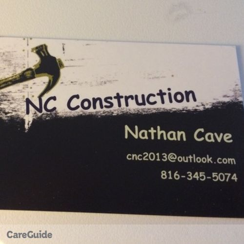 Painter Provider Nathan Cave's Profile Picture